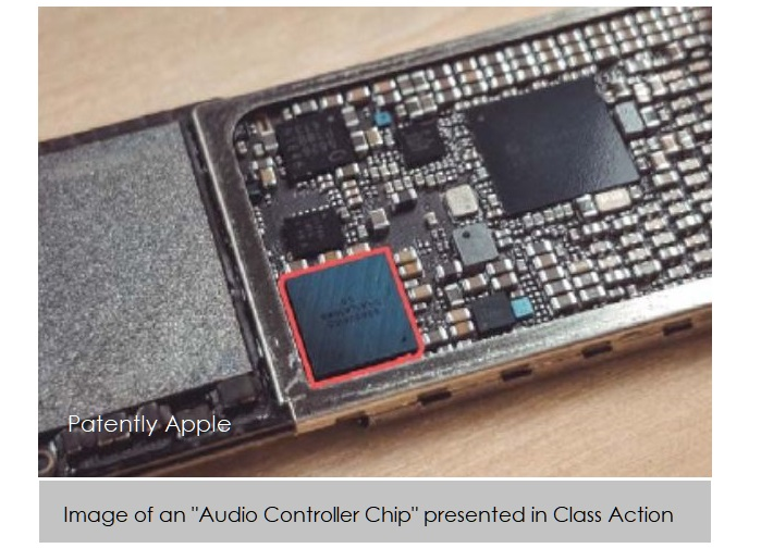 2 X audio chip image in class action against Apple