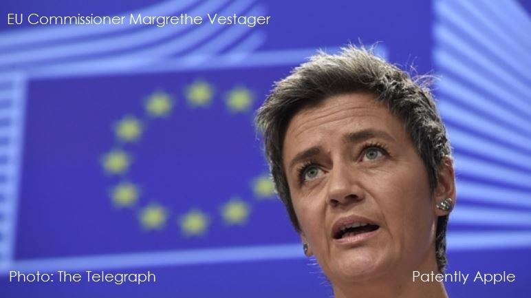 1af 55 Vestager  EU antitrust commissioner