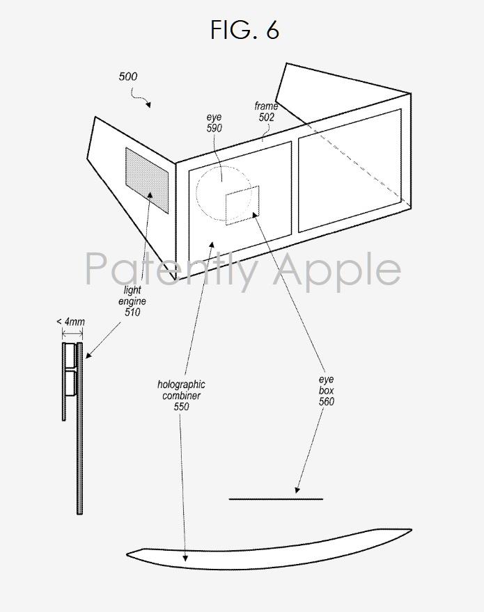 3 Apple AR headset display system fig 6