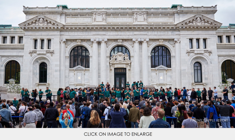2 Apple Carnegie-Library Hundreds of People MAY 11  2019