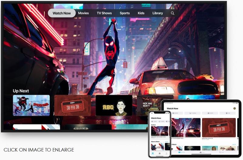 1 x cover os Apple TV App announcment