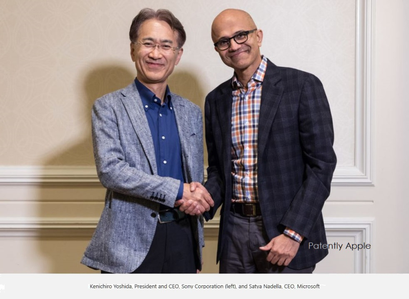 2 x Sony-Msft CEO's announce joint gaming initiative