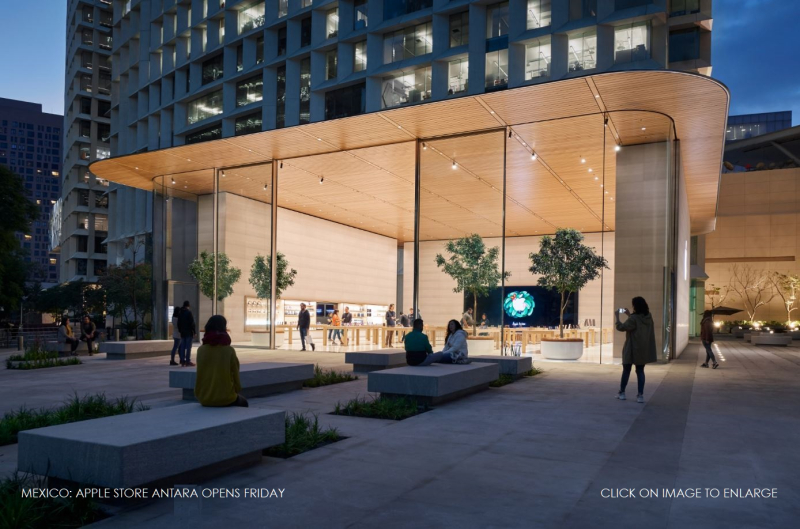 1 Cover Apple Antara store in mexico opens this weekend