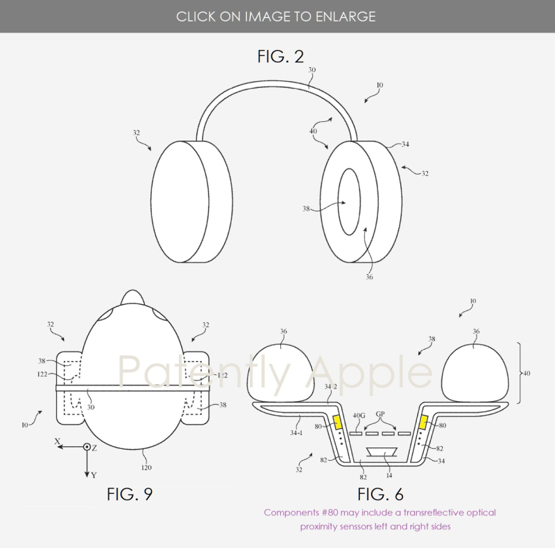 2X APPLE OVER-THE-EAR HEADPHONE GRANTE PATENT - PATENTLY APPLE IP REPORT