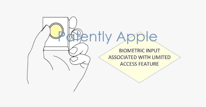 1 Cover biometrics for Apple TV remote