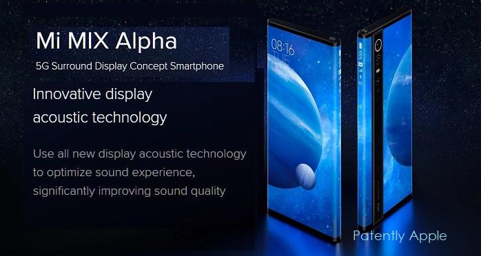 3 Xiaomi Mi Mix Alpha