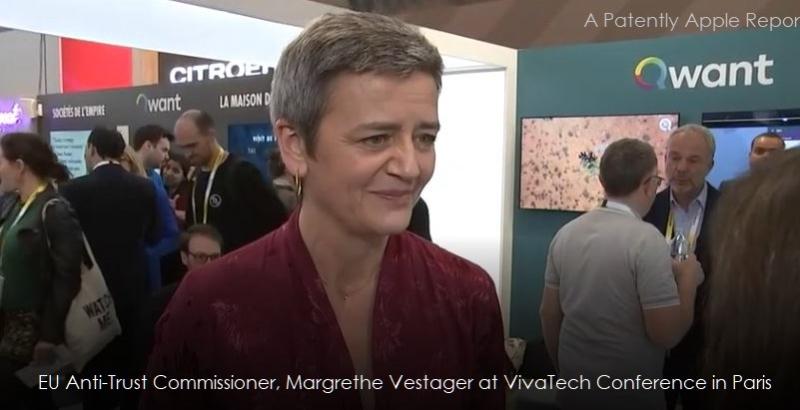 1 X EU Commissioner  Vestager