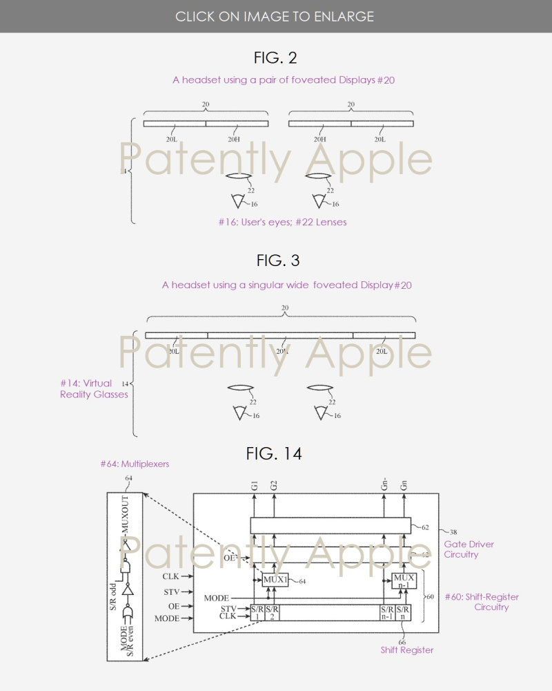 2 figs. 2  3 & 14 Apple vr glasses  - Patently Apple IP Report June 6  2019