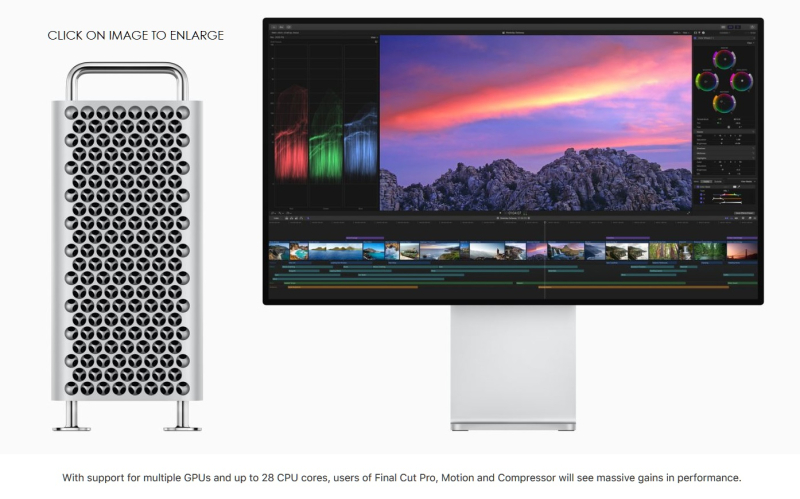 2 NEW MAC PRO AND DISPLAY