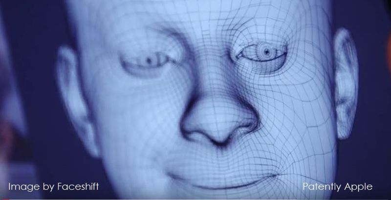 1 cover Apple patent from Faceshift