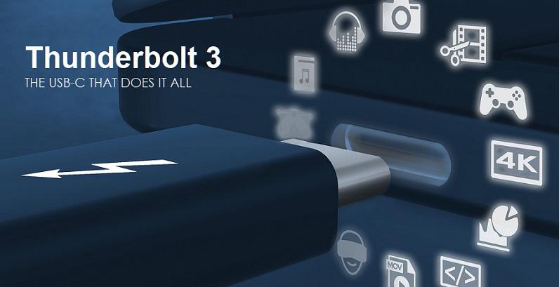 1 X Cover Intel-Thunderbolt3  USB 4