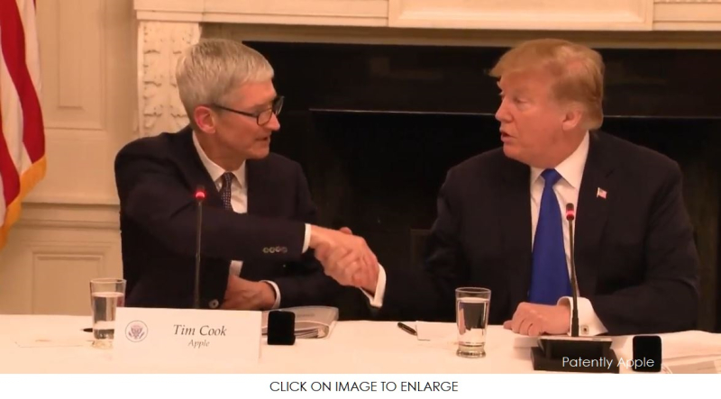 1 X Cover - Tim Cook at meeting in Washington mar 6  2019