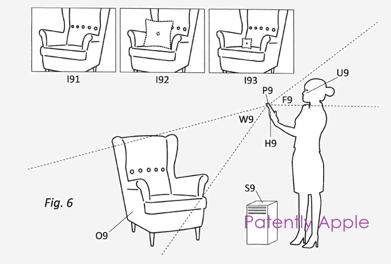 2 Apple ARKit related patent  from Metaio