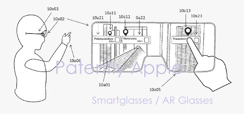 833fc2d5e73d Apple wins a Patent for Augmented Reality Smartglasses. 1 X cover Metaio  smartglasses patent figure