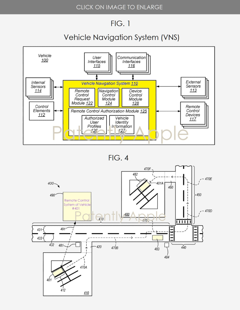 2 Apple granted patent for autonomous vehicle feature for emergencies