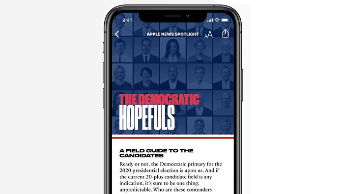 1 x Cover apple + politics
