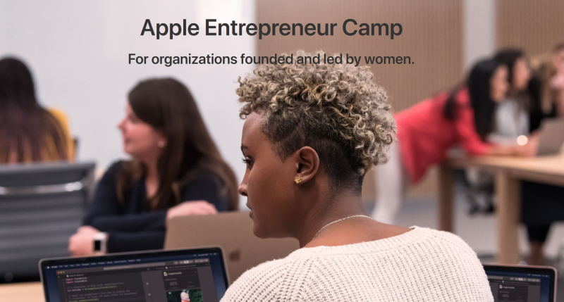 1 cover Apple Entrepreneur camp led by women