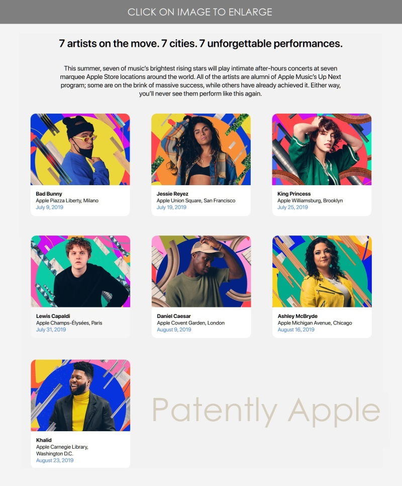 Apple Music S Up Next Live Concert Schedule And Ticketing