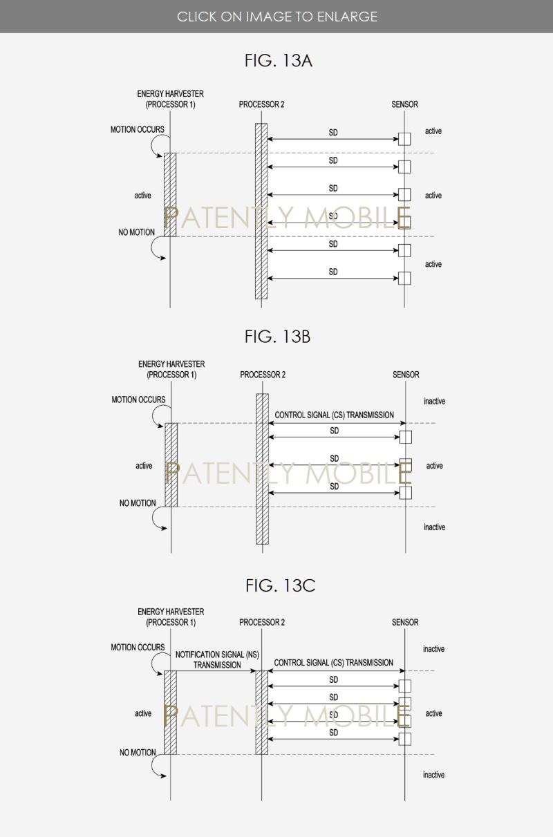 3 Samsung Energy harvesting patent figs 13ABC