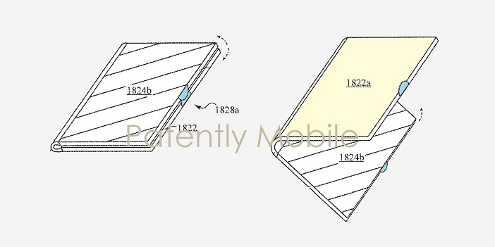 1 cover Samsung foldable device patent