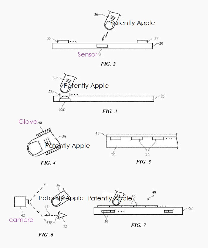 4 X APPLE PATENT FIGS 2 TO 7 HMD