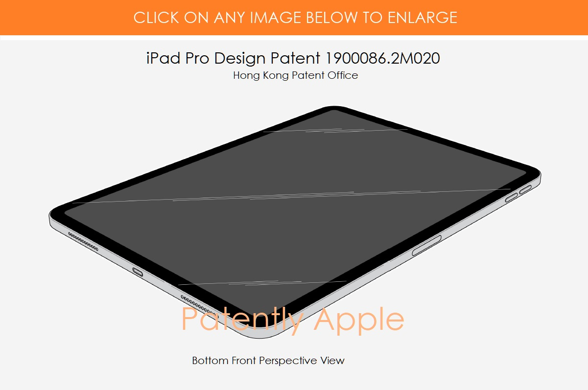 Www Pro Design Com apple was granted 20 design patents for their 2018 ipad pro