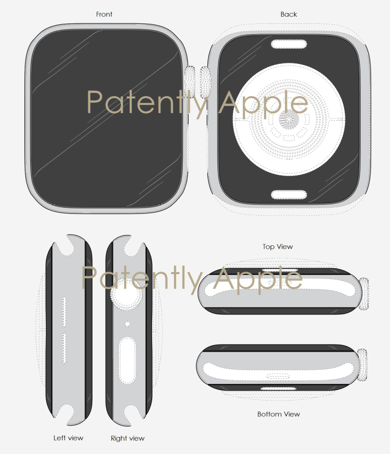 7X Apple Watch 4 design patent 1802540.7M004 - Second round of patent figures