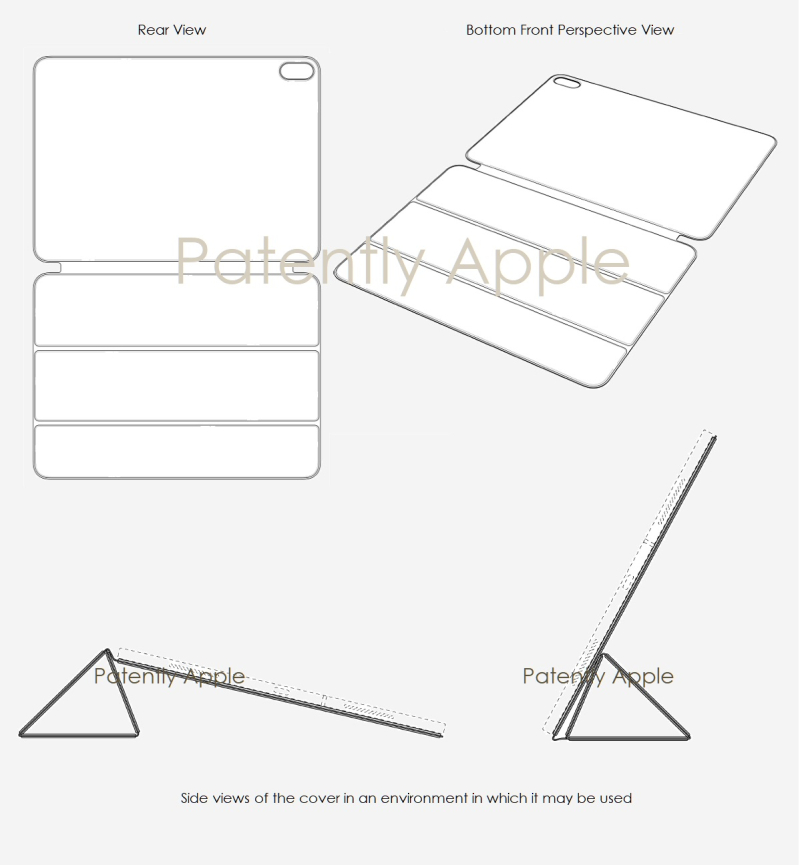 2 Apple design patent 1900085.0M001 - iPad Pro Smart Folio design patent series - Hong Kong - Patently Apple IP report 7-7-2019
