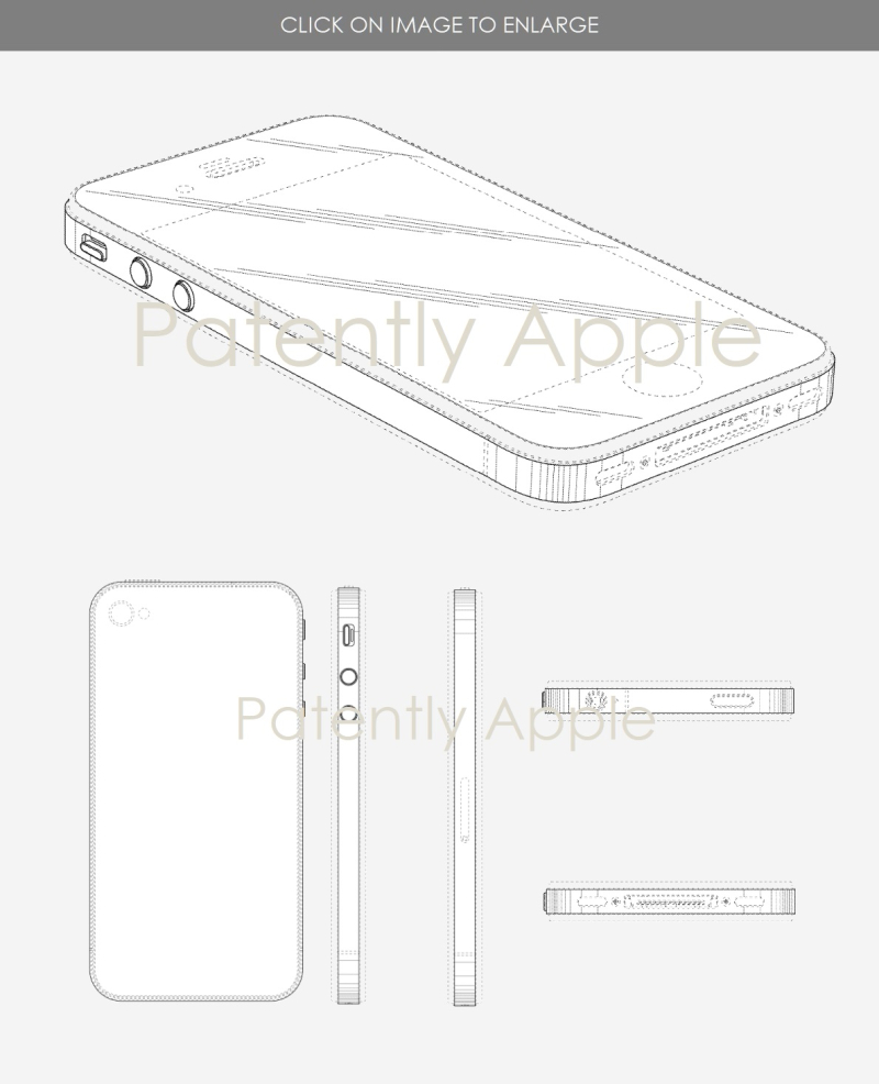 5 2 Design patents cover iphone se and iphone 5s