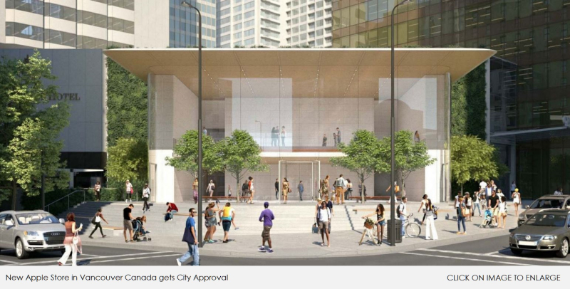 1 X Cover Apple Store Vancouver Canada
