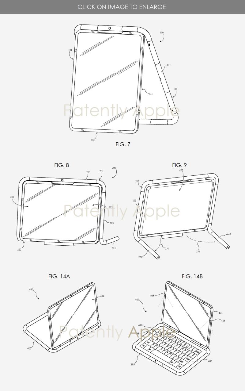 3 apple iPad accessory case figs 7  8  9 +
