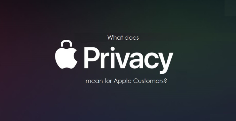 1 x cover Privacy  Apple