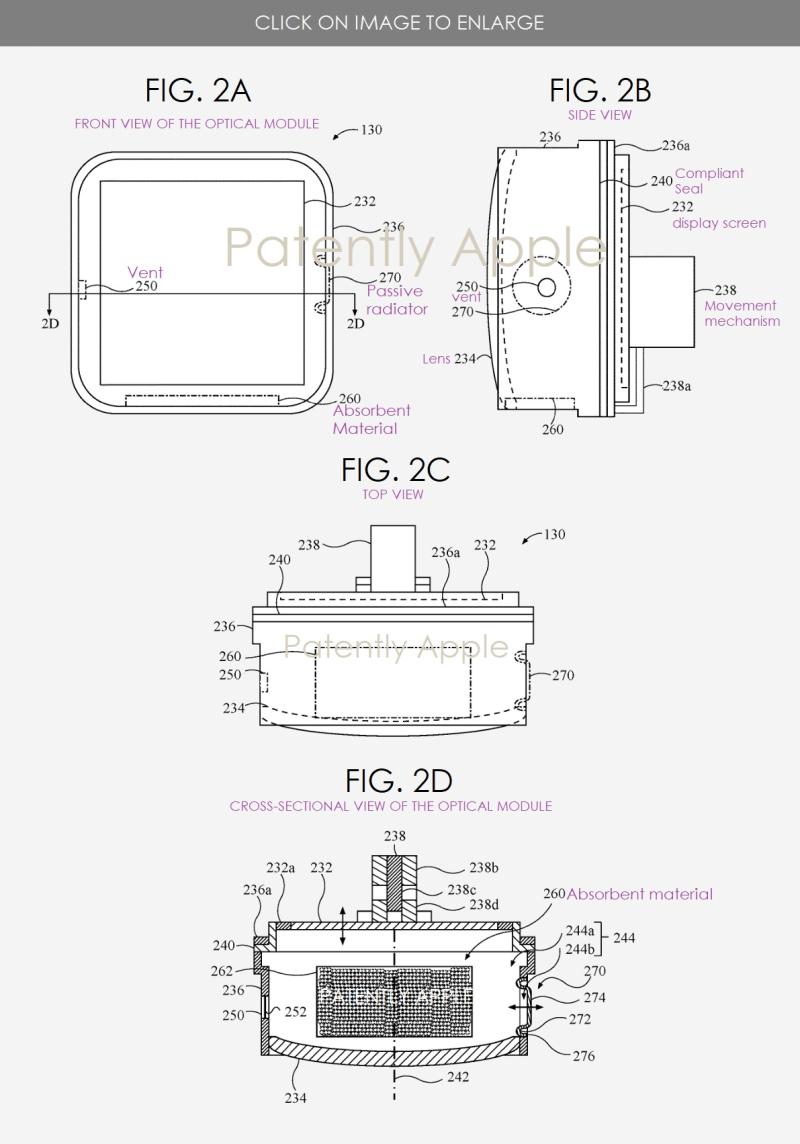 3 XXX - Apple HMD patent figs 2a-2d