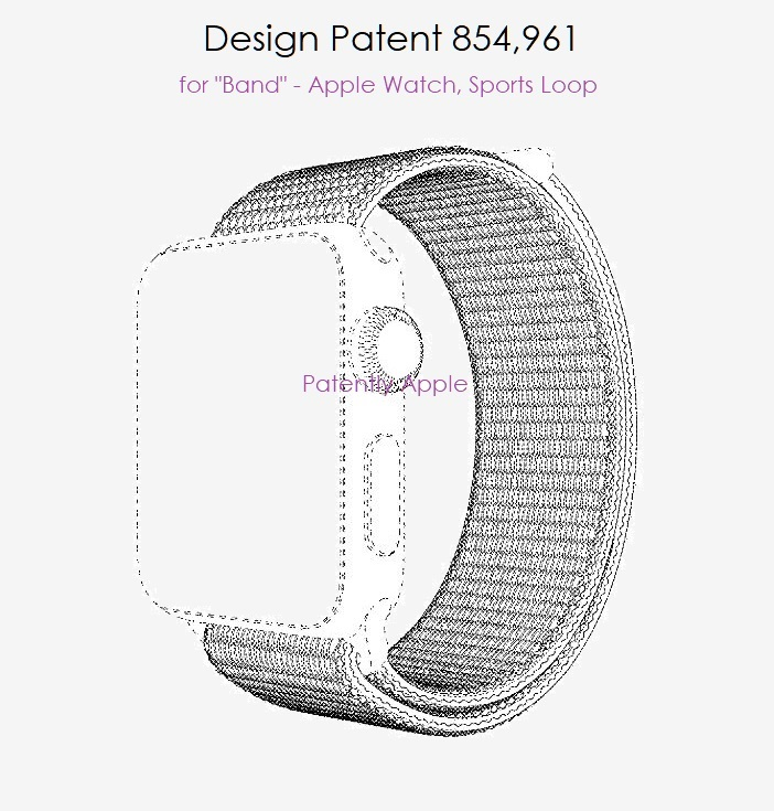 5 Sports Loop band wins design patent July 30  2019  Patently Apple IP report