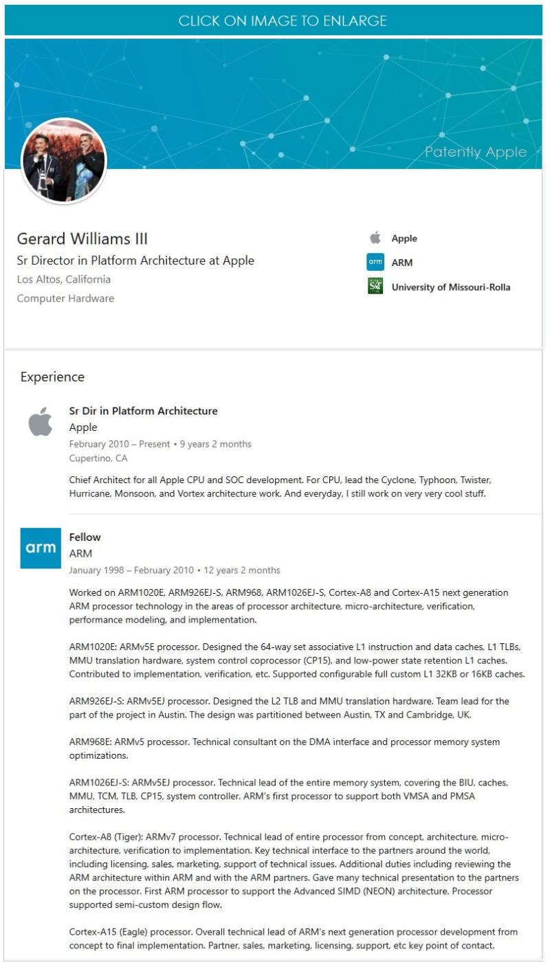 2 Gerard Williams III leaves Apple