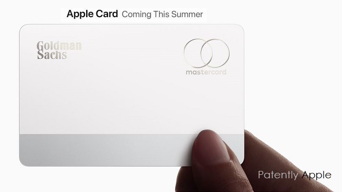 1  Goldman Sach's apple card