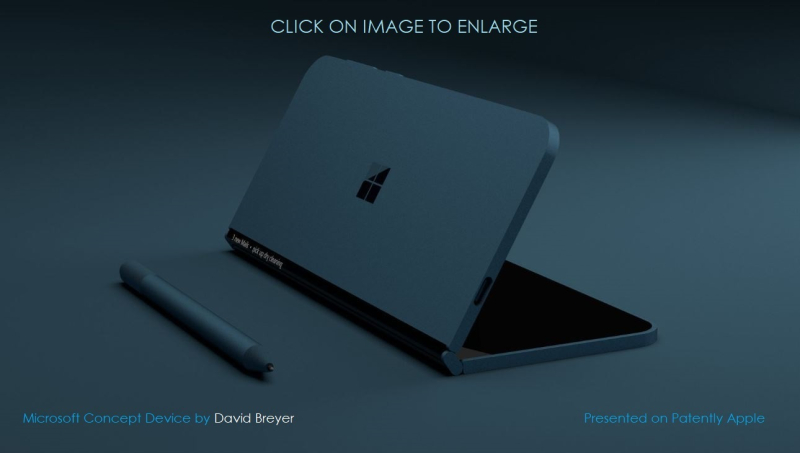 1 cover concept foldable device msft