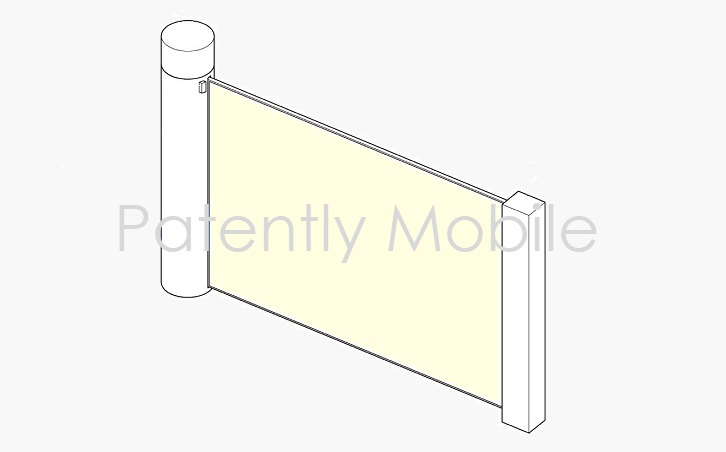 1 Cover Samsung patent for scrollable device