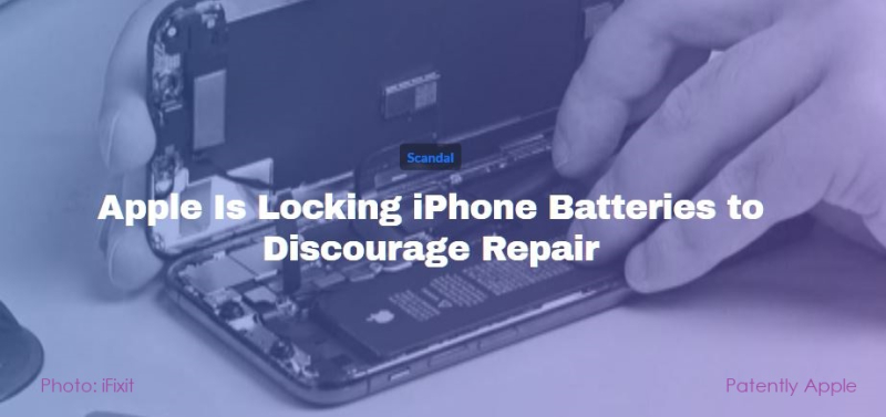 1 X cover ifixit report on Apple Battery Scandal