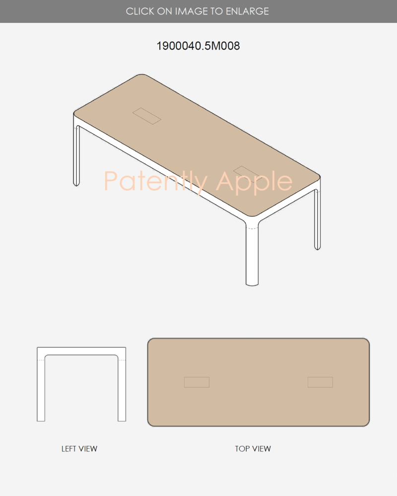 5 Apple Store presentatioin Table with center display