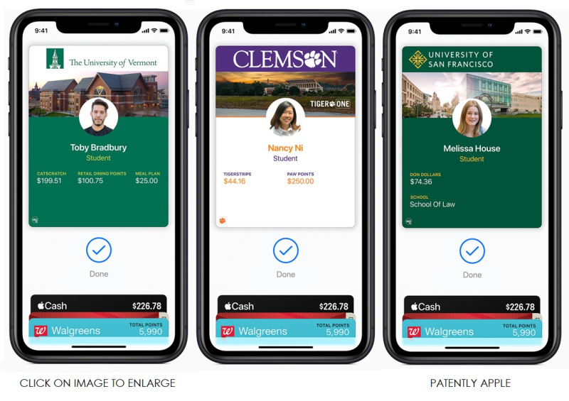 2 APPLE IMAGES FOR STUDENT ID EASE AT COLLEGES
