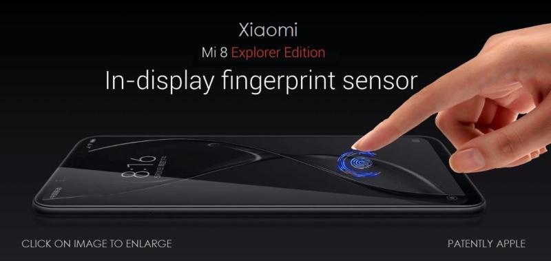 1 X Cover Xiaomi in-display fingerprint sensor