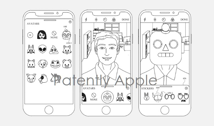 1 cover Apple granted patent for hybrid animoji   Patently Apple IP report