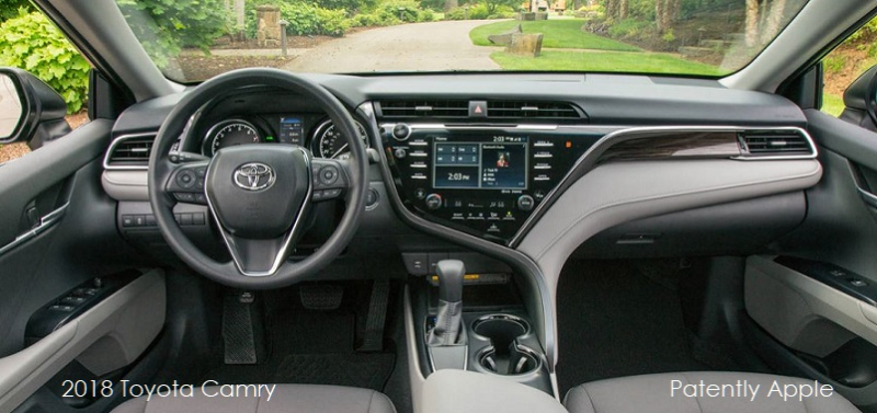 1 cover Toyota Camry 2018
