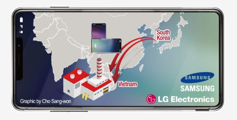1 X cover lg moving plants to vietnam