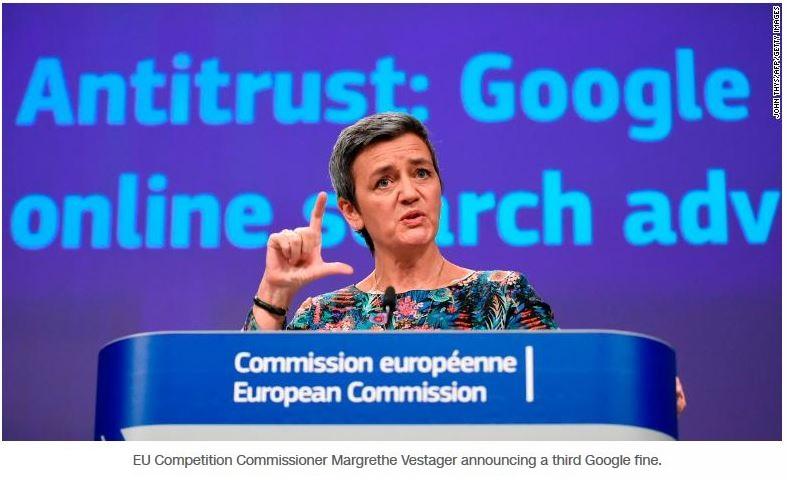 2 Vesteger Antitrust EU against Google