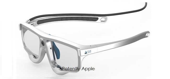 1 X cover SMI smartglasses image  now owned by Apple