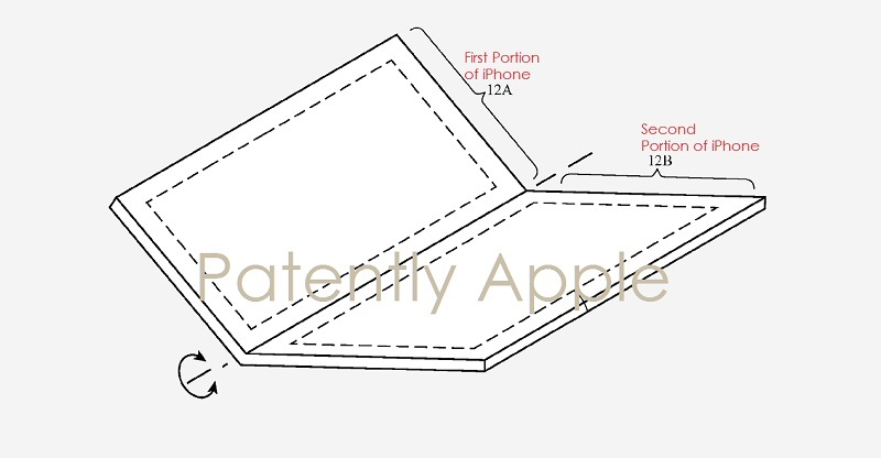 1 cover foldable device may use microLED display