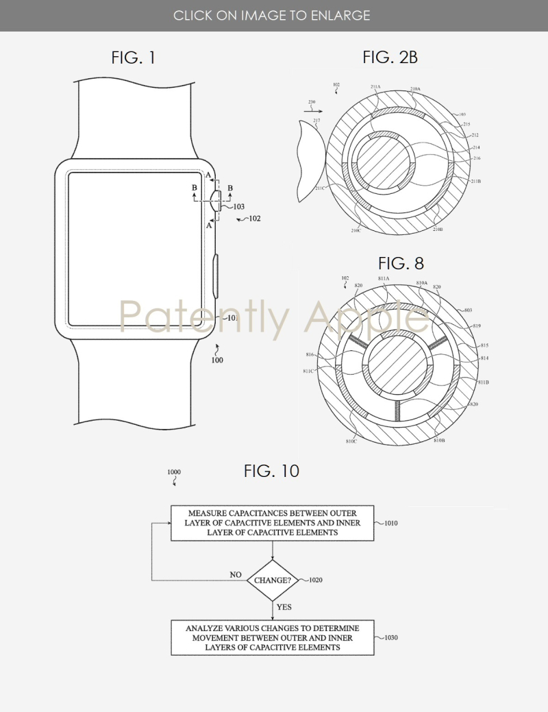 2  JP Apple patent FIGS. 1  2B  8 AND 10