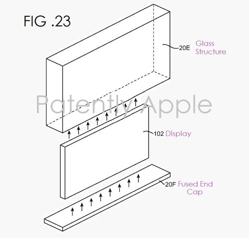 2 x Apple patent fig. 23 iMac or Apple display